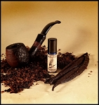 VANILLA PIPE TOBACCO PERFUME OIL 5 ml - Chewy Unlit Vanilla Pipe Tobacco & Light Fragrant Pipe Smoke